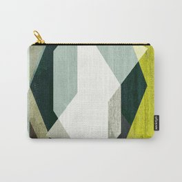 modern mid century, Graphic art, neutral colors, geometric art, circles, modern painting, abstract Carry-All Pouch