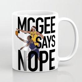 JaVale McGee Says Nope Coffee Mug