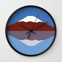 #23 Mt Fuji Wall Clock