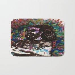Jerry Garcia Watercolor Portrait Grateful Dead Bath Mat