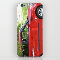yorkie iPhone & iPod Skins featuring Yorkie Driving by indigo2