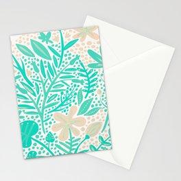 Garden – Mint & Cream Palette Stationery Cards
