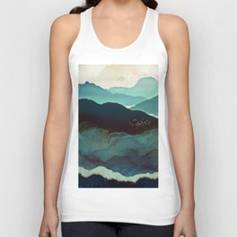 Indigo Mountains Unisex Tank Top