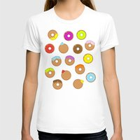 donuts T-shirts featuring Donuts by Reg Silva / Wedgienet.net