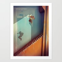 the national Art Prints featuring The National by Guillaume Ospital