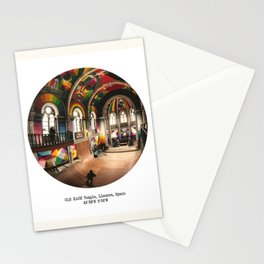 012: KAOS Temple, Spain Stationery Cards