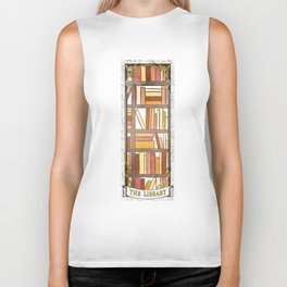 THE LIBRARY Biker Tank