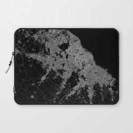 Warsaw map poland Laptop Sleeve