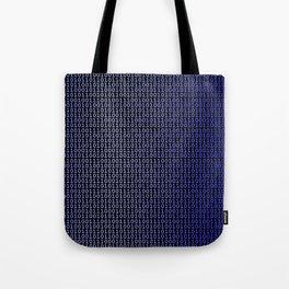 Binary Blue Tote Bag
