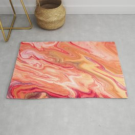 Marble with a spring tint Rug