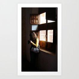 Luz Art Print