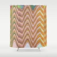 Fade A02 Shower Curtain