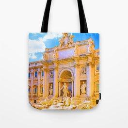 Trevi Fountain in Rome Tote Bag
