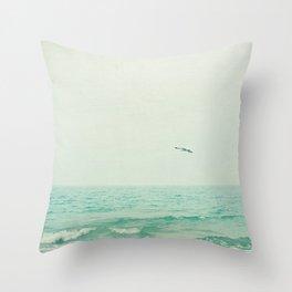 Lone Bird Throw Pillow
