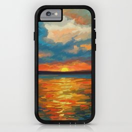 Sunset Impression iPhone Case