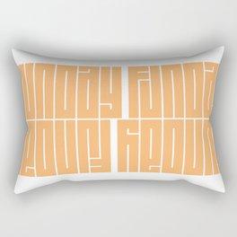 Sunday Funday | Typography Rectangular Pillow