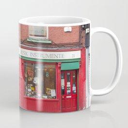 Music Instrument Store in Dublin Coffee Mug