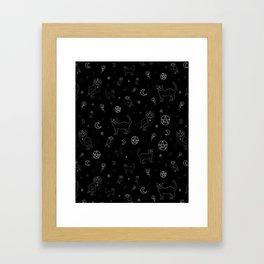 Hidden Magic Framed Art Print