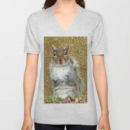 Cute Squirrel Unisex V-Neck