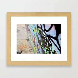 Thought in color Framed Art Print