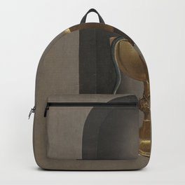 Hans Memling - The Chalice of St. John the Evangelist (Reversed) Backpack
