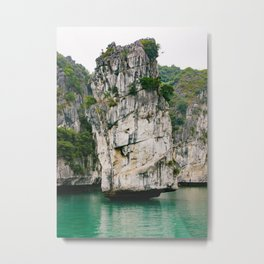 Amazing Rock Formation in Vietnam Metal Print