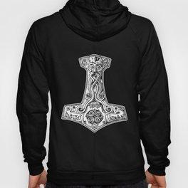 Thors Hammer Mighty Mjolnir Viking Warrior Thor Old Norse Mythology Viking t-shirts Hoody