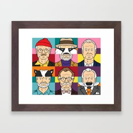 Wes's Murray Mash Framed Art Print