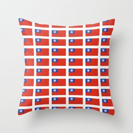 Flag of Myanmar-ဗမာ, မြန်မာ, Burma,Burmese,Myanmese,Naypyidaw, Yangon, Rangoon. Throw Pillow