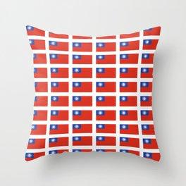 Flag of Myanmar-ဗမာ, မြန်မာ, Burma,Burmese,Myanmese,Naypyidaw, Yangon, Rangoon. Throw Pillow