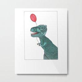 Mr. Dino Metal Print