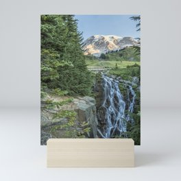 Early Morning at Myrtle Falls Mini Art Print