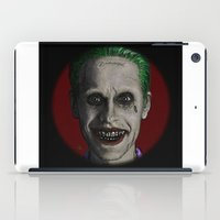 jared leto iPad Cases featuring JARED LETO by zinakorotkova