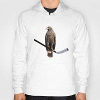 blackhawks Hoodies featuring Polyhawk by fohkat