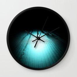 Intimidate Wall Clock