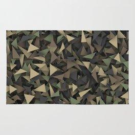Triangle camouflage Rug