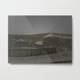 Neighbors Metal Print