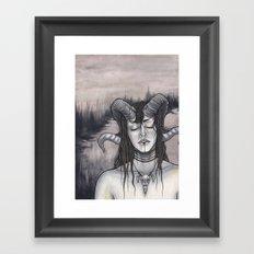 Crucia Framed Art Print
