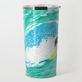 Big wave surfer Travel Mug