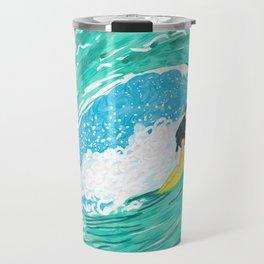 Big wave surfer Travel Mug