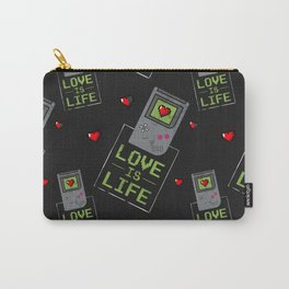 Love is Life Carry-All Pouch