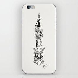 Totoro's neighbors from Spirited Away, Princess Mononoke and Kiki's Delivery Service iPhone Skin