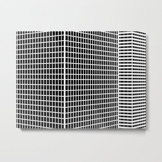 TWO BUILDINGS Metal Print