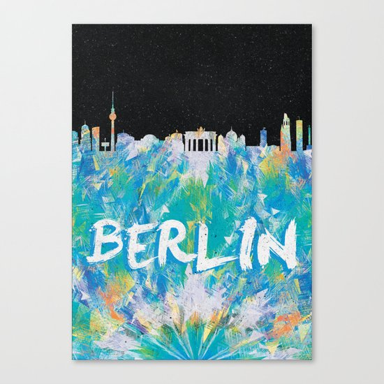 Berlin (Feat. Filipe Rolim) Canvas Print