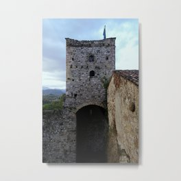 Game Of Towers Metal Print