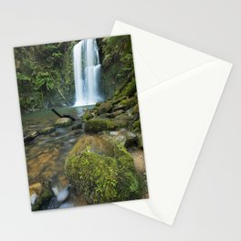 I - Rainforest waterfalls, Beauchamp Falls, Great Otway NP, Victoria, Australia Stationery Cards