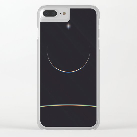 STARS Clear iPhone Case