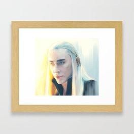 King of Starlight Framed Art Print