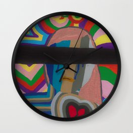 Blinded Wall Clock