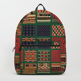 Quilt Pattern Two Backpack
